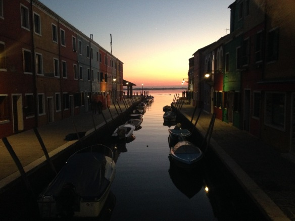 Burano sunset