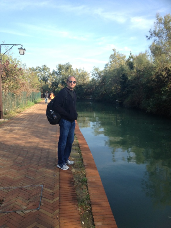 torcello doug on path
