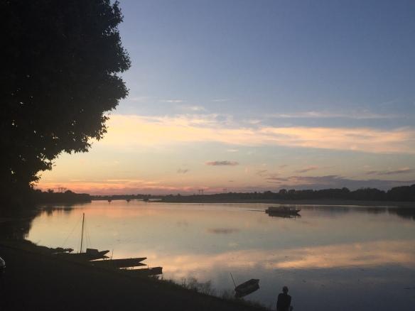 loire sunset
